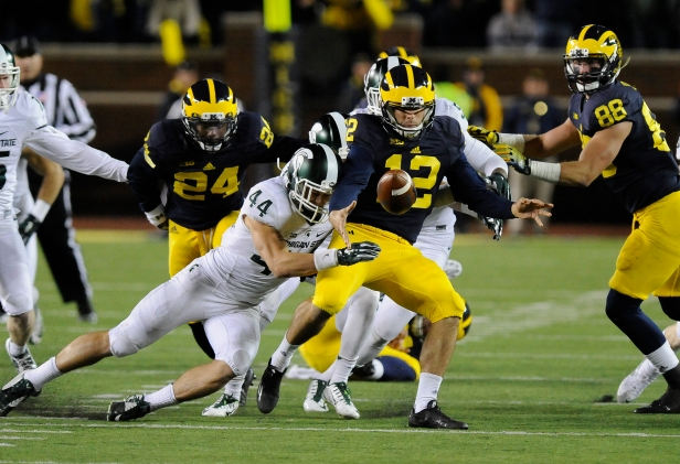 NCAA FOOTBALL: OCT 17 Michigan State at Michigan